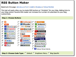 RSS Button Creator