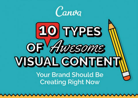 10 Types of Visual Content Your Brand Should Be Creating Right Now