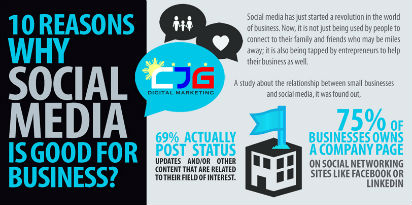 10 Reasons Social Is Good For Business
