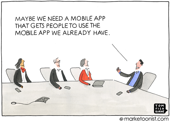 Mobile apps Tom Fishburne