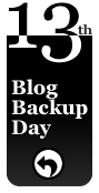 Blog Backup Day