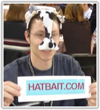 HatBait - Thomas - Cow Hat