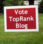 Vote TopRank Blog