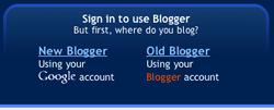 Blogger Login 1