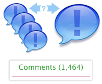 Comments Bubble