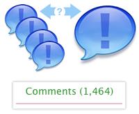 Comments Bubble