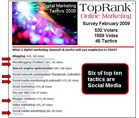 digital marketing poll 2009