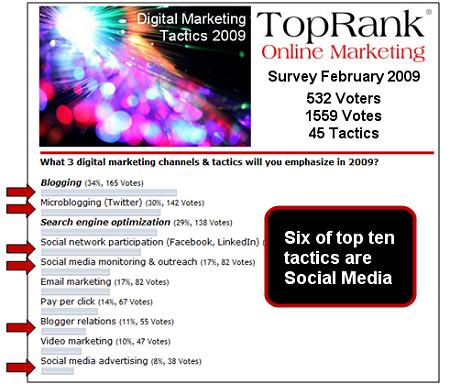 digital marketing poll 2009