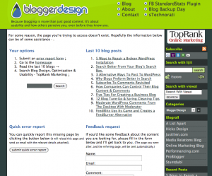 Dunstin-Style Error Page
