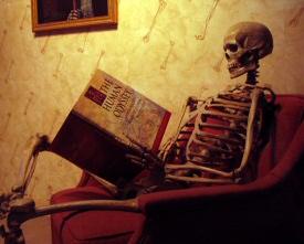 skeleton leted