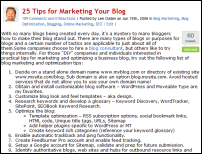 25- tips blog marketing