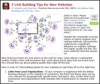 link building tips