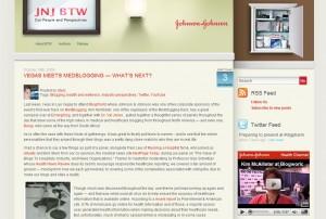 J&J Corporate Blog
