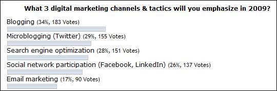 digital marketing 2009