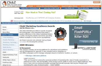 ClickZ Marketing Excellence Awards