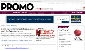 PROMO Interactive Marketing Awards