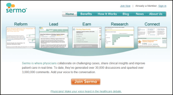 sermo - social network for doctors