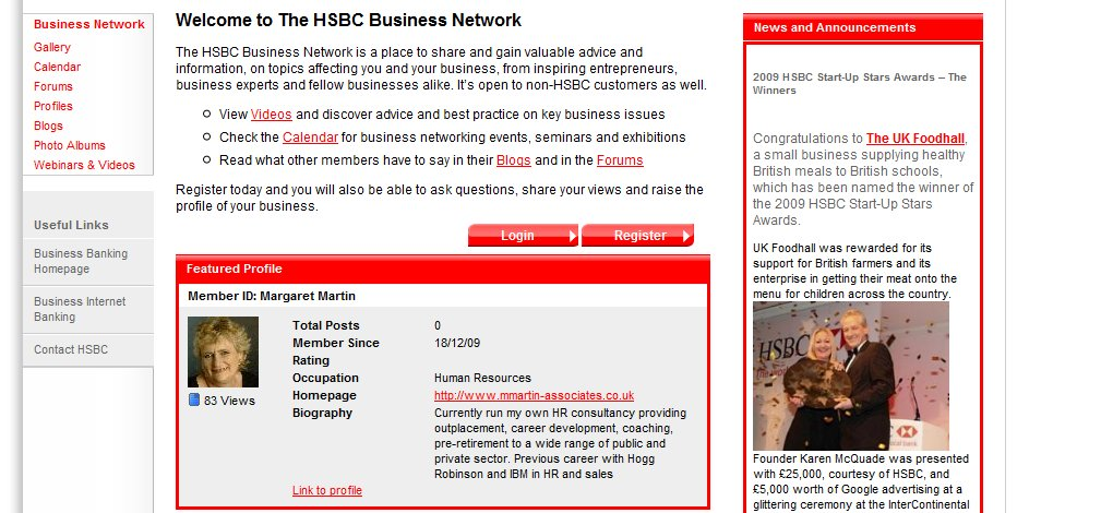 HSBC Social Media