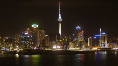 Auckland NZ Skyline