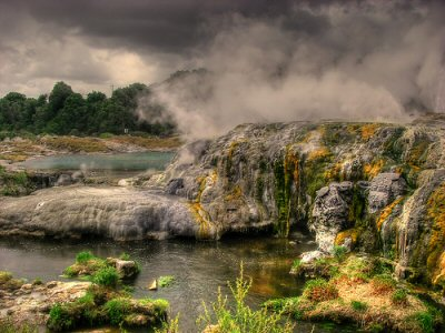 Rotorua - North Island - New Zealand