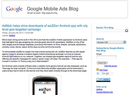 Mobile Advertising Blog