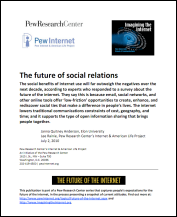Pew Internet Future of Social Relations