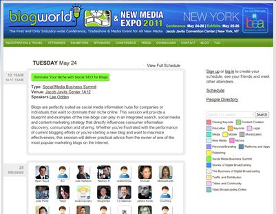 Blogworld New York 2011