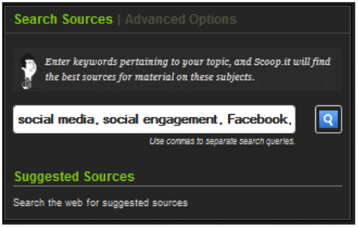 search sources