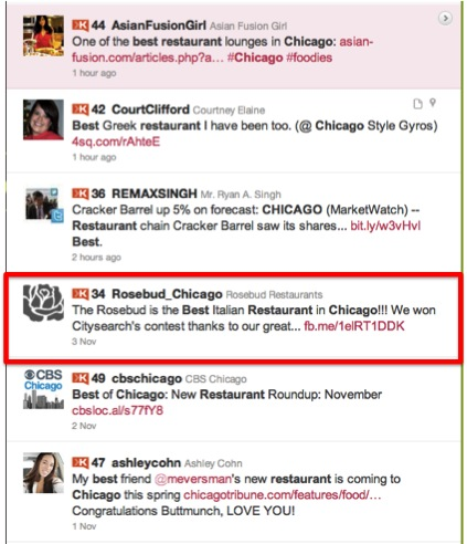 Twitter Search Chicago