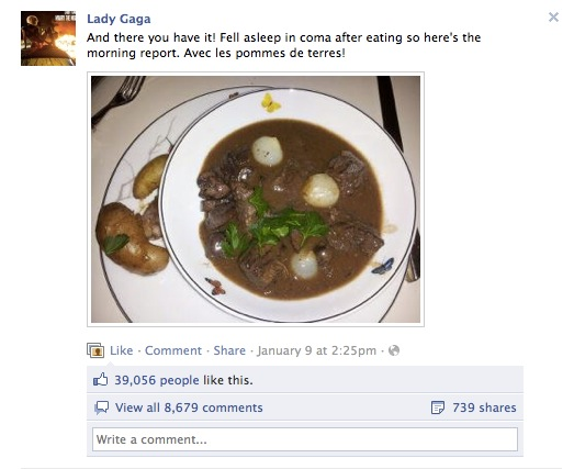 Lady Gaga Likes to Cook