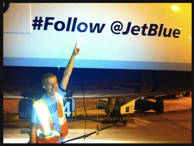 JetBlue tackles Customer Service Via Twitter