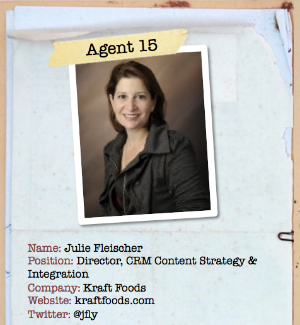 Julie Fleischer Content Marketing Secret Agent