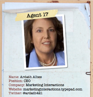 Ardath Albee Content Marketing Secret Agent