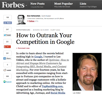 How to Outrank the Competition in Google - Forbes