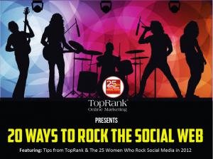 eBook 20 Ways to Rock The Social Web
