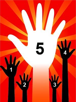 5 social media user types