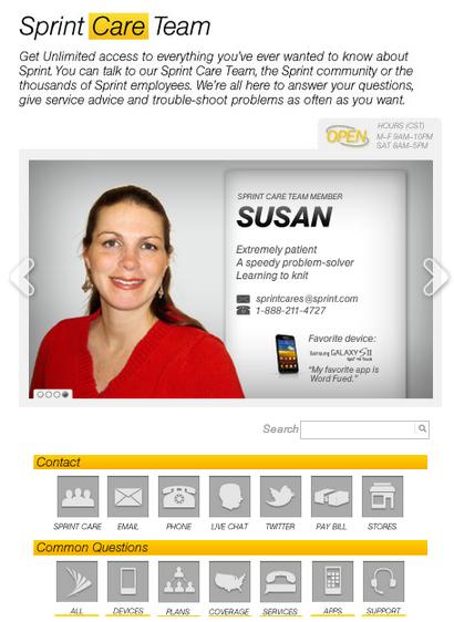 sprint customer care