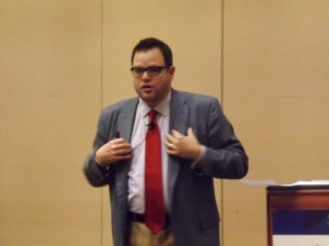Jay Baer talks about content marketing and Youtility at NMX Las Vegas