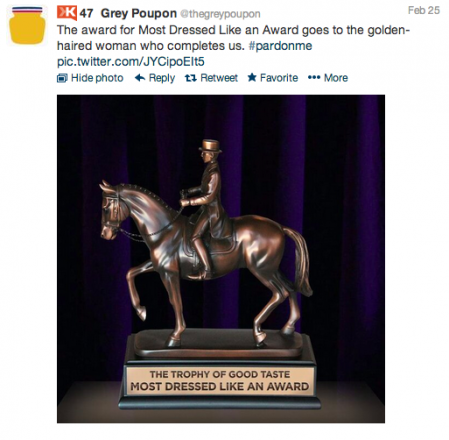 Grey Poupon Oscars