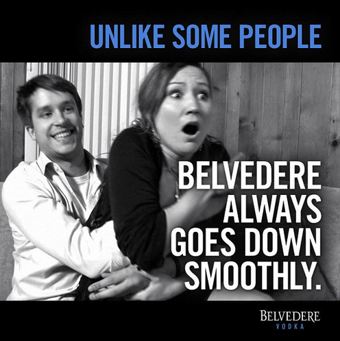 Belvedere's social campaign was horrifyingly wrong.