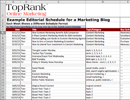 TopRank Editorial Calendar download