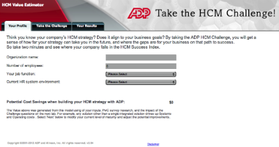 ADP Diagnostic Assessment Tool