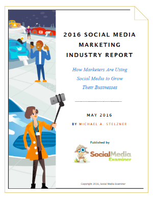 2016 Social Media Marketing Report