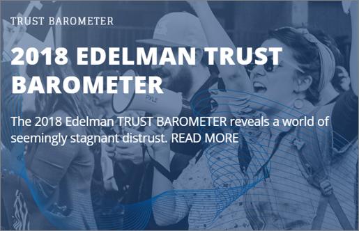 2018 Edelman Trust Barometer