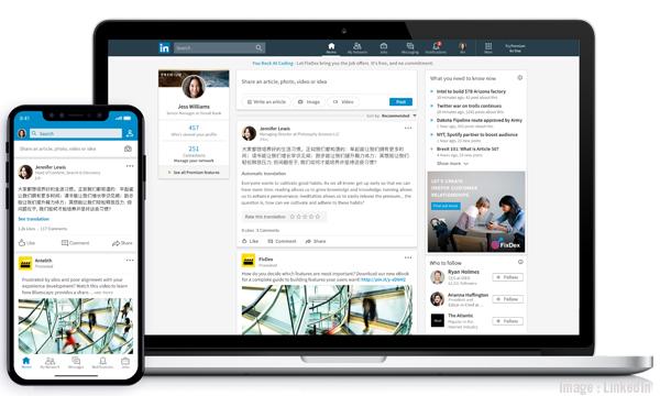 LinkedIn Adds Translation Services In Over 60 Languages