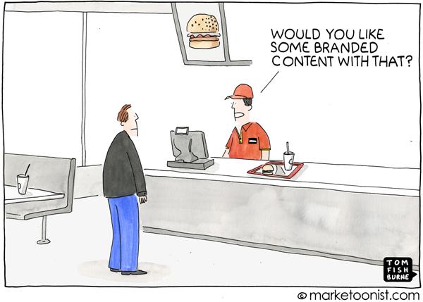 Marketoonist Branded Content Cartoon