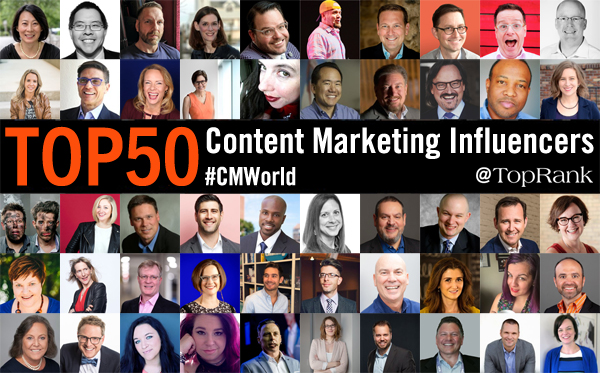 Content Marketing Influencers 2019