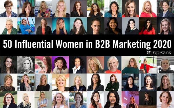 2020 Influential Women in B2B Marketing
