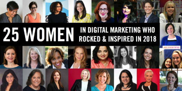 25 Women Digital Marketing