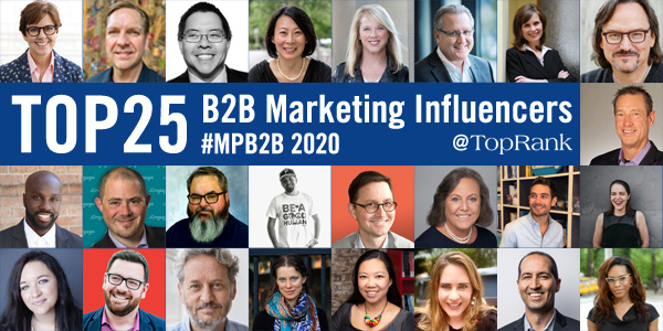 25 MPB2B Influencers Image